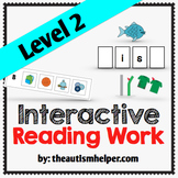 Interactive Reading Work Book {Level 2}