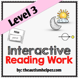 Interactive Reading Work Book {Level 3}