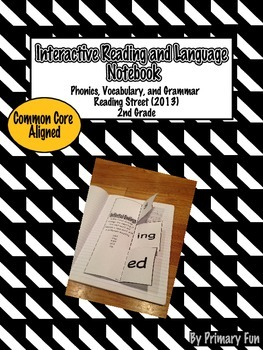 Interactive Reading and Language Notebook-2nd Grade Reading Street 2013