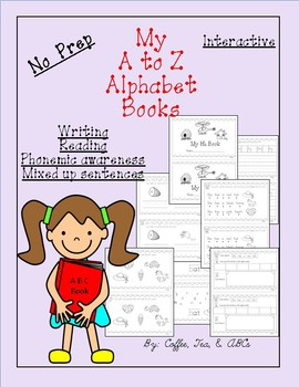Interactive Reading and Writing ABC Books