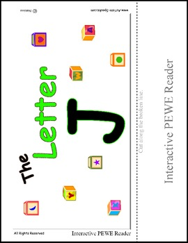 Interactive Reading for the Letter J - PEWE Reader - PECS Style book