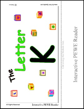 Interactive Reading for the letter K - Successful Skills using PECS Style Books