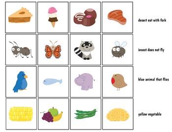 Interactive Receptive Language Tasks