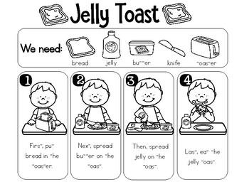 Interactive Recipe - Jelly Toast