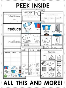 Interactive Activities - Reduce Reuse Recycle