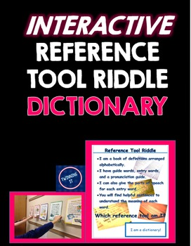Interactive Reference Tool Riddle Dictionary