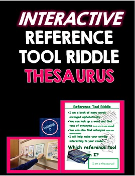 Thesaurus Riddle