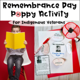 Remembrance Day Poppy Activity for Canadian Indigenous Veterans