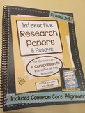 Interactive Research Papers ~ Spiral Bound HARD COPY ~ *Limited Quantity!*