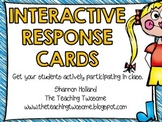 Interactive Response Cards