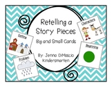 Interactive Retelling a Story Cards {Big and Small}
