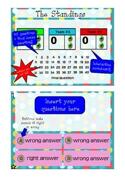 Interactive Review Game