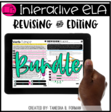 Interactive Revising and Editing - THE BUNDLE (Distance Learning)
