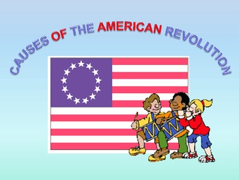 Interactive Revolutionary War Slides, Song, Poem, and Printable Game