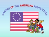 Interactive Revolutionary War Slides, Song, Poem, and Prin