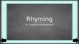 Interactive Rhyming Game