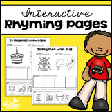 Interactive Rhyming Pages
