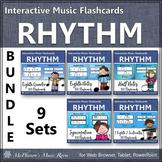 Interactive Rhythm Flash Cards (Bundle Set)