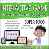 Interactive Rhythm Game - Super Food Rhythm Challenge feat
