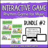 Interactive Rhythm Games BUNDLE #2 - Spring-Themed Resources