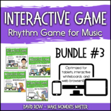 Interactive Rhythm Games BUNDLE #3 - Space, Barnyard, Ocea