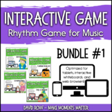 Interactive Rhythm Games BUNDLE #1 - Fall-Themed Resources