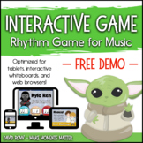 Interactive Rhythm Games DEMO - for Interactive Whiteboard