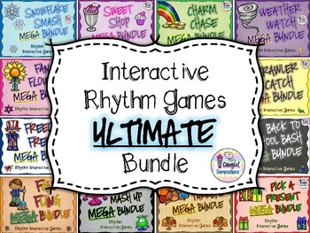 Interactive Rhythm Games ULTIMATE Bundle