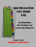 Interactive Ring for Multiplication Tables 1-12