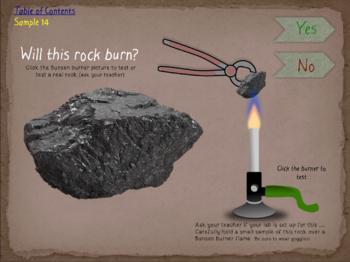 Interactive Rock Identification