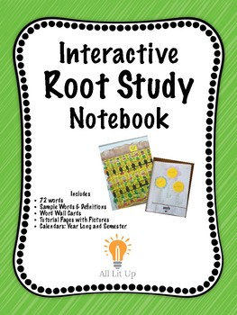 Interactive Root Study Notebook