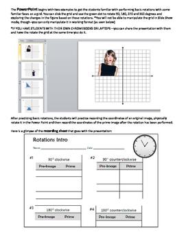 Interactive Rotations