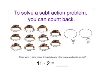 Interactive SMARTBoard Presentation - Subtraction Sea