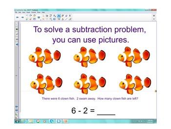 Interactive SMARTBoard Presentation - Subtraction Sea