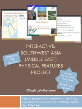 Interactive: SW Asia (Middle East) Physical Features Project (SS7G5)