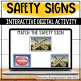 Interactive Safety Signs Lesson for Special Education