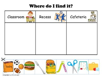 Interactive SCHOOL Books and Thematic Concept Activities