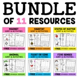 Interactive Science Activities - Bundle