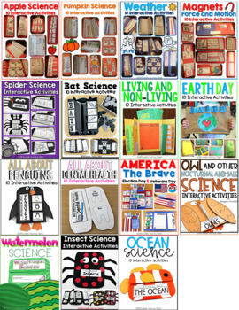 Interactive Science and Social Studies Bundle