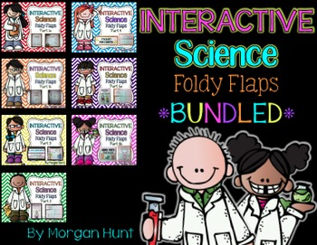Interactive Science Foldy Flaps *BUNDLED*