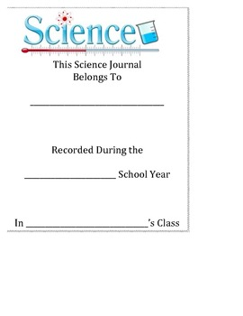 Interactive Science Journal Core ELA - Labs, Graphic Organizers, Safety, & More!