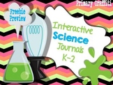 Interactive Science Journal {K-2 Freebie}