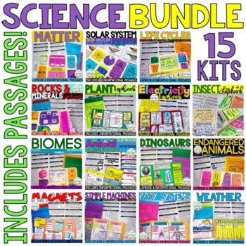 Interactive Science Kit BUNDLE
