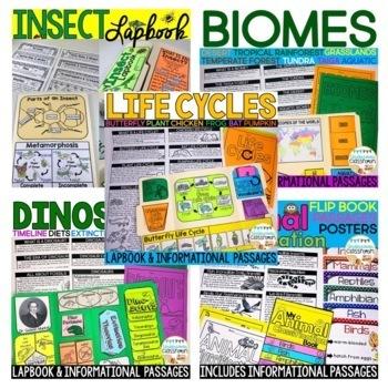 Science BUNDLE: Interactive Kits