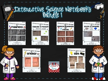 Interactive Science Notebook Bundle 1