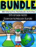Interactive Science Notebook Bundle for Fifth Grade NGSS