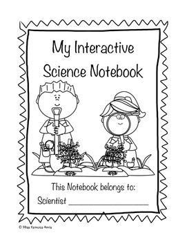 Interactive Science Notebook Cover Page