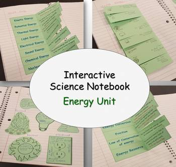 Interactive Science Notebook - Energy
