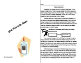Interactive Science Notebook: Energy Conversions Practice