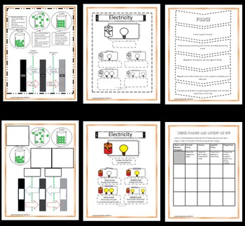 Interactive Science Notebook: Force, Motion, Matter, and Energy (STAAR)